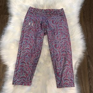 Under Armor Colorful Cropped Leggings